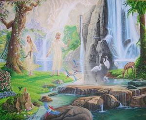 بهشت و حورالعین