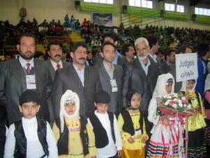 تیم داوران در مسابقات بین المللی