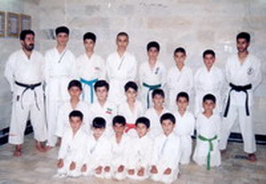 باشگاه کاراته استاد صابر عطایی