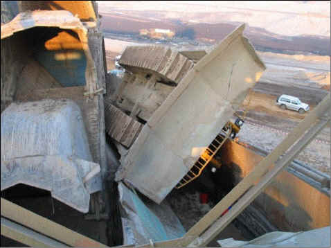 بزرگترین ماشین بیل مکانیکی bucket excavator