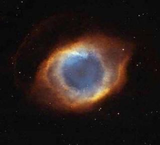 عکسی که ناسا گرفته است که بسیار شبیه چشم است!!