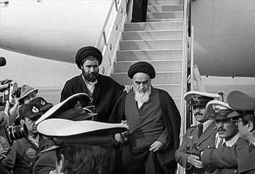 ورود امام خمینی ره به ایران ـ بهمن 1357