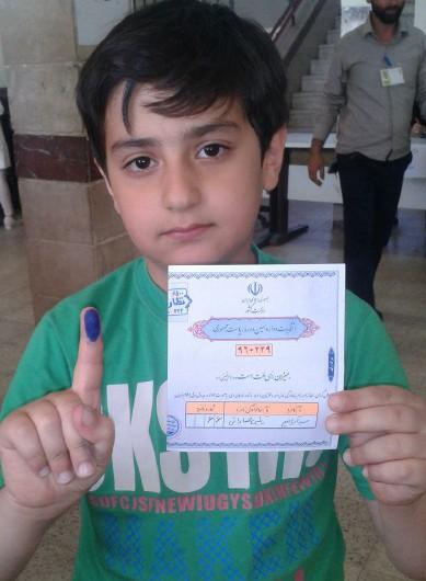 انتخابات و سیاستمدار 8 ساله