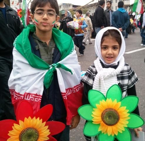 فرزندانم، روز سیزده آبان، میدان شهرداری رشت