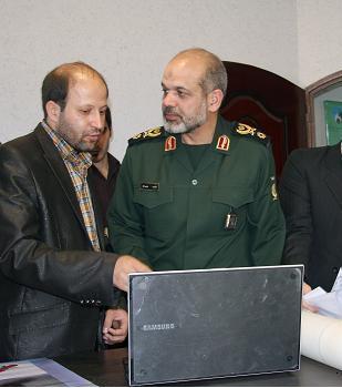 بازدید وزیر محترم دفاع از طرح های مهندس سید علیرضا ثناگستر