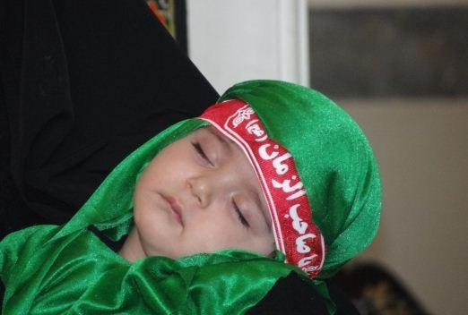 السلام علی الطفل الرضیع