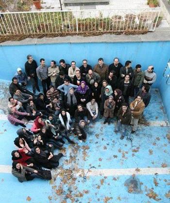 مردان و زنان تهرانی در استخر
