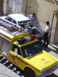 مامور نیروی انتظامی و آتش نشانی