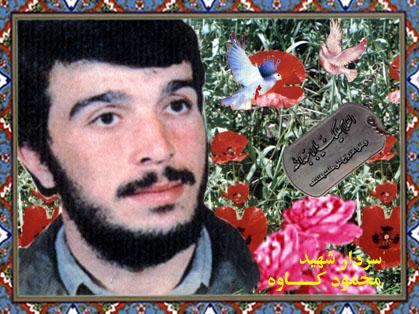 شهید محمود کاوه نامت پایدار و زنده باد . سید افشاری