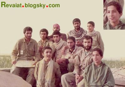 پایین - راست: امیر عباس
