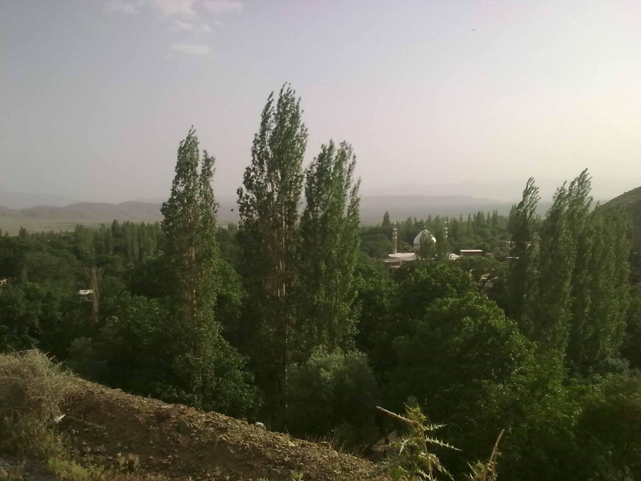 عکسی از روستای سربندان