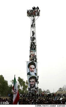 عکس زیبای احمدی نژاد