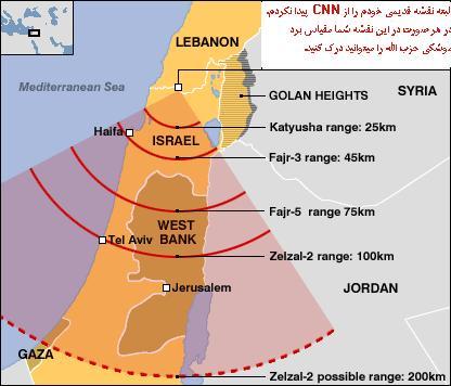 این نقشه برد تقریبی زلزال-2 را نشان میدهد.