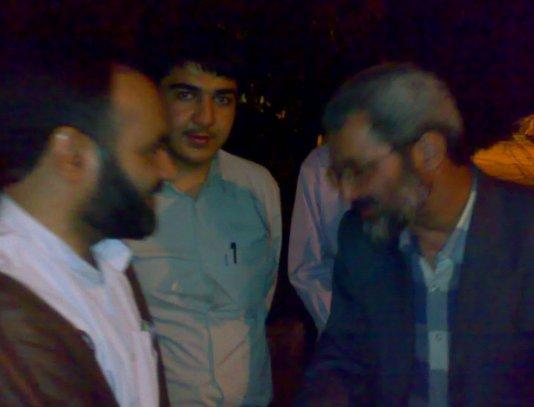 دیدار سلیمی نمین با طلبه سیرجانی